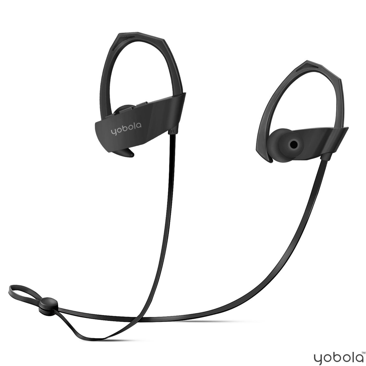 yobola M1 Bluetooth Headphones - Black